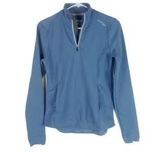 Saucony Womens Athletic Pullover 1/4 Zip Top